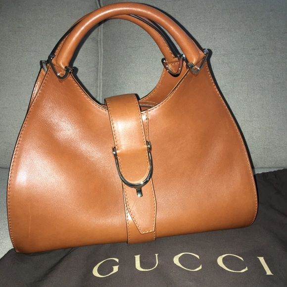 c41138616 Gucci Bags | Stirrup Leather Top Handle Bag | Poshmark